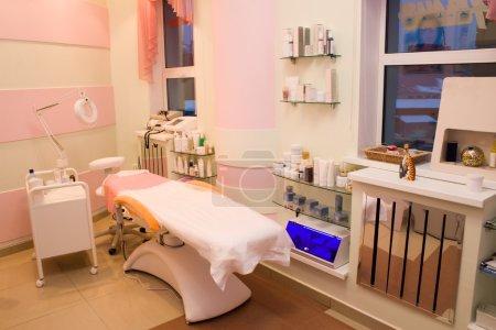 Foto de Sala de tratamiento en un centro de belleza - Imagen libre de derechos