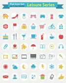 Flat Icon -- Leisure Series