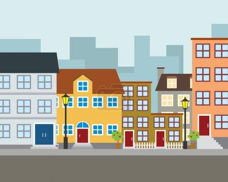 Illustration for Vector Community Illustration - Royalty Free Image