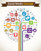 Abstract Creative Icon -- Social Media Concept