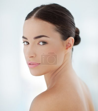 Photo for Portrait of a beautiful sensual Caucasian woman. - Royalty Free Image
