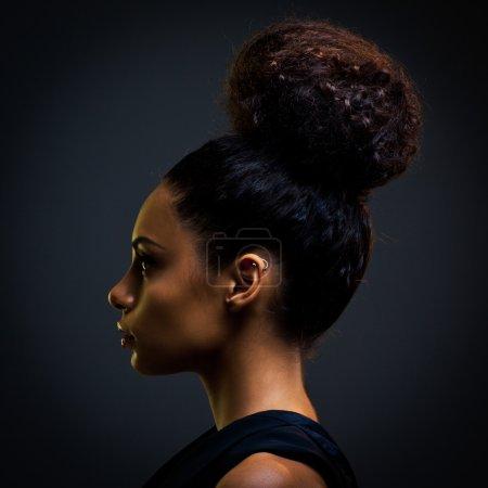 Glamorous African Woman