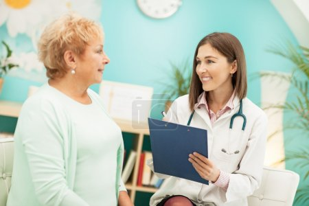 Homeopathist and Her Patient