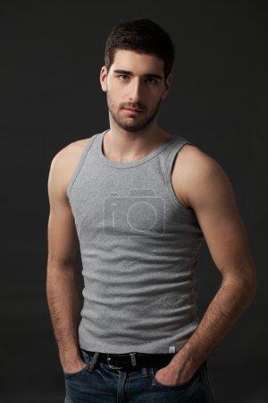 Cool Handsome Caucasian Man