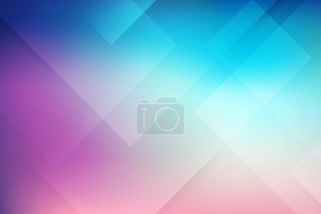 Illustration for Abstract vector background blue and pink. layered. - Royalty Free Image