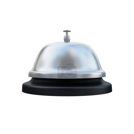 ring service alarm isoliert auf weissem