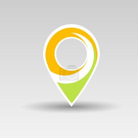 User interface map marker