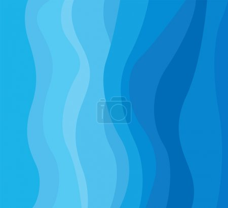 Illustration for Background concept design for brochure or flyer, abstract water flow. - Royalty Free Image