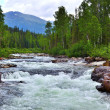 A river in Kuznetsk Alatau mountains, Western Sibe...