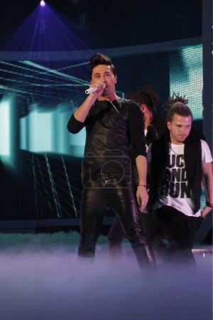 Photo pour Concert de Dima Bilan - image libre de droit