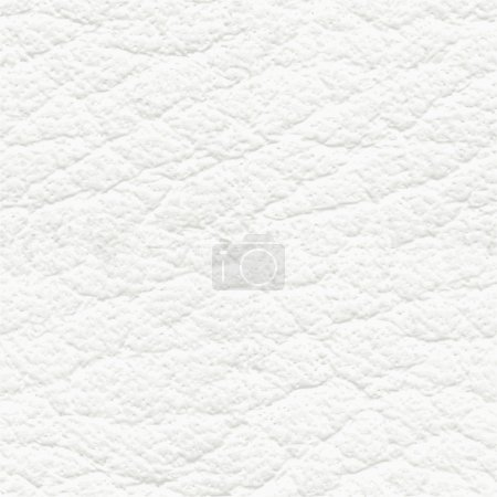 Illustration for White leather seamless texture or pattern - Royalty Free Image