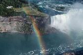 Great view of Niagara falls horseshoe landscape
