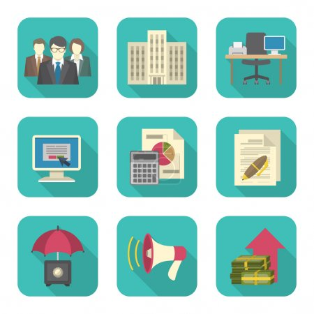 Business Costs Icons