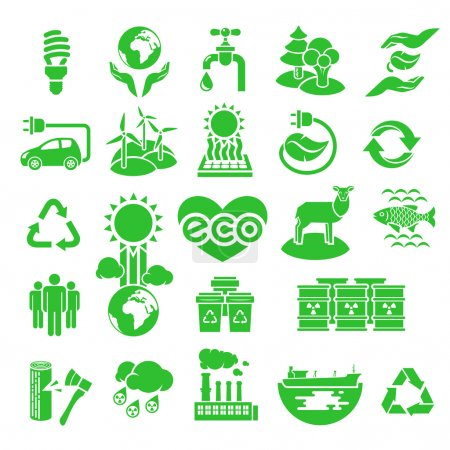 Eco Icons Silhouettes