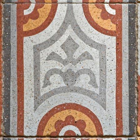 Square paving tile