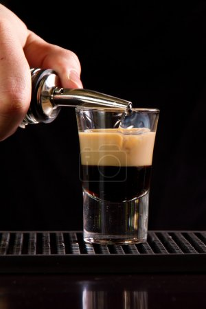 Photo for B-52 shot on a bar counter top - Royalty Free Image