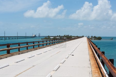 The Historic Seven Mile Bridge in the Florida Keys