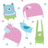 Vector illustration Animals