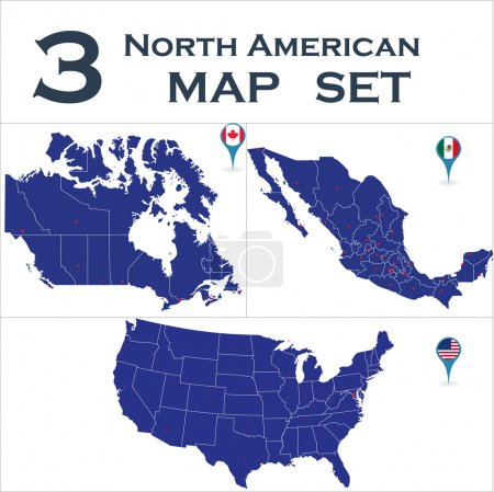 North American country set