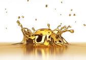 Tekuté zlato spash