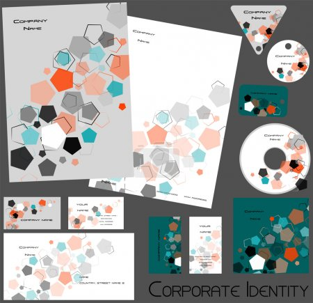 Corporate identity template no. 16