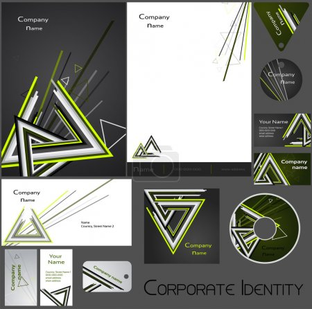 Corporate identity template no. 17.2