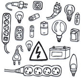 Energy and electric symbols