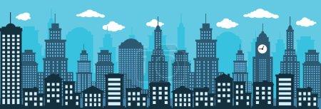 Cityscape (blue)