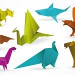 Постер, плакат: Origami animals