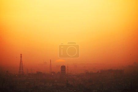 Sunset of India...