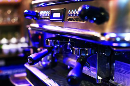 Photo pour Machine à café expresso - image libre de droit