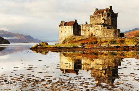 Photo pour Eilean donan castle, Écosse, Royaume-Uni - image libre de droit
