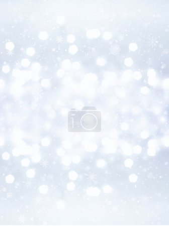 Defocused gold Bokeh. Christmas background