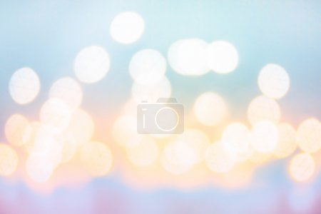 Abstract twinkling bokeh Background