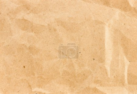 Crumpled recycled paper background texture.