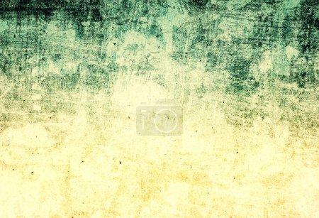 Photo pour Texture abstraite du papier fond. Texture grunge avec espace pour le texte ou l'image de fond, jaune et vert, fond sale rétro . - image libre de droit