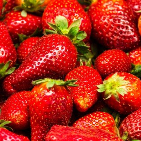 Strawberry Food Background.