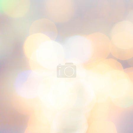 Bokeh light Vintage defocused  background