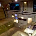 Dubai, UAE - NOVEMBER-14-2011: Mercedes interior o...