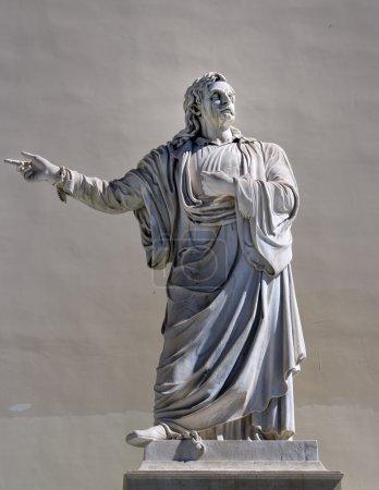 greek philosopher statue