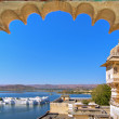 Rajasthan, India, Udaipur fortress view to Lake....