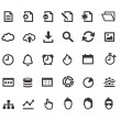 Flat Simple document icons...