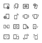 Mobile icons