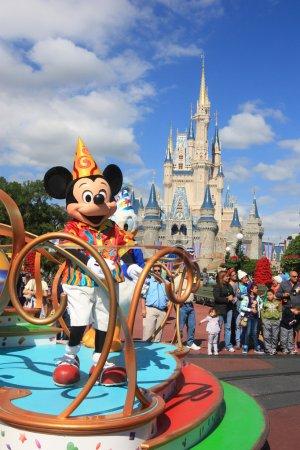 Mickey Mouse in Magic Kingdom, Orlando