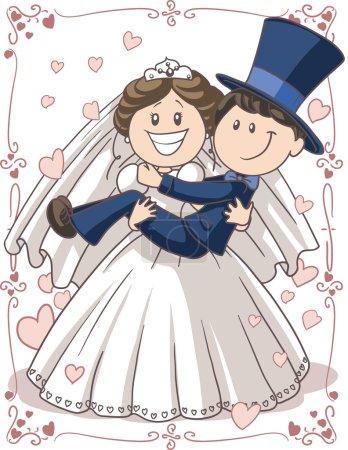 Wedding Invitation Couple