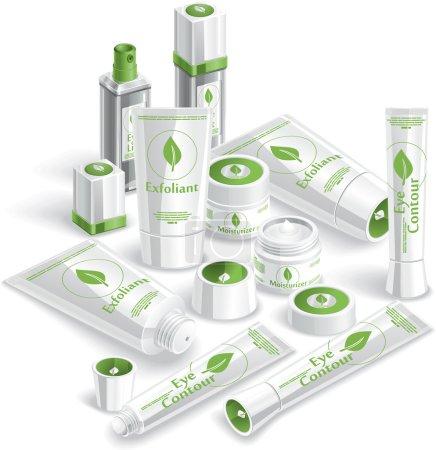 White Cosmetics Array