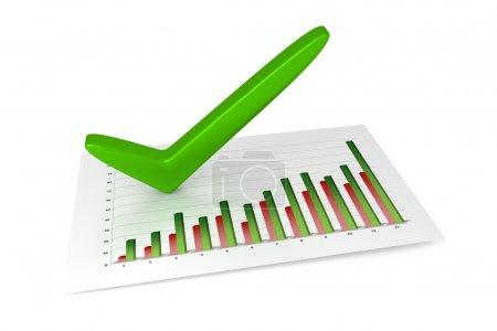 3D Chart - Success