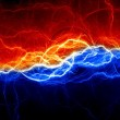 Electric discharge berween ice and fire...