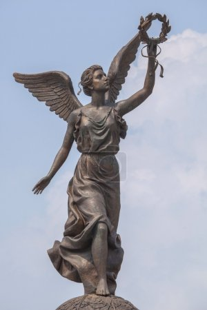 Monument to the Goddess of victory Nike in Kharkov...