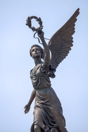 Part of monument to the Goddess of victory Nike.